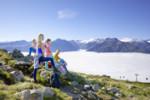 Familie Panoramablick Nationalpark