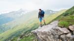 Wanderer mit Fernblick